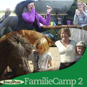 Sommerens familiecamp 2 - med islandske heste for hele familien